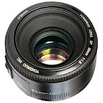 YongNuo Lens for Canon EF - 50mm - F/1.8