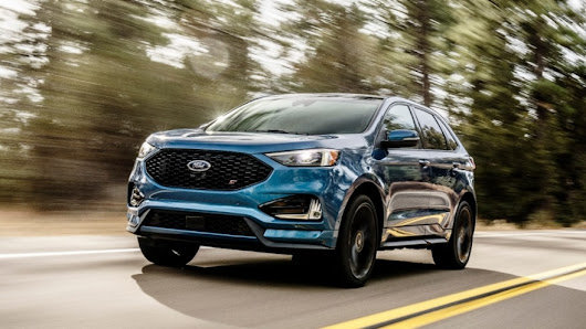Revving Up: Ford Drives All-New Edge ST into Showrooms, Accelerating Its SUV Sales Momentum | Canada | English | Ford Media Center