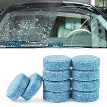 10x Car wiper tablet Window Glass Cleaning  Accessories For Mitsubishi