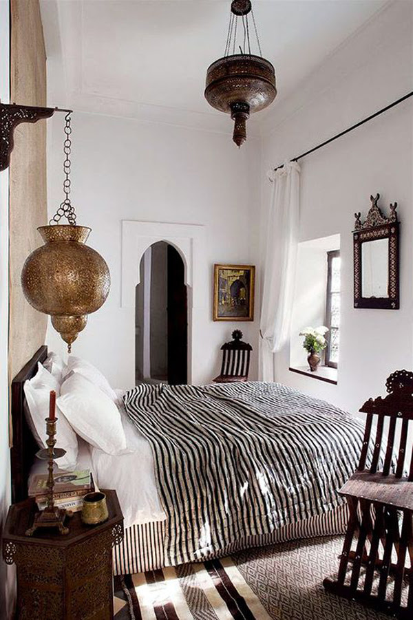 20 Ethnic iMoroccan Bedroomi With Modern Patterns HomeMydesign