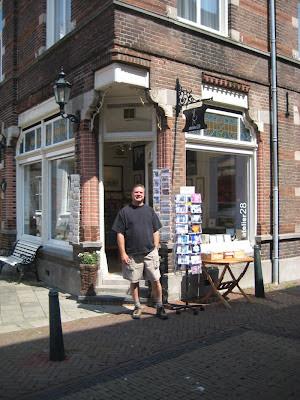 Roland Lee at Atelier 28 in Tholen Zeeland Netherlands