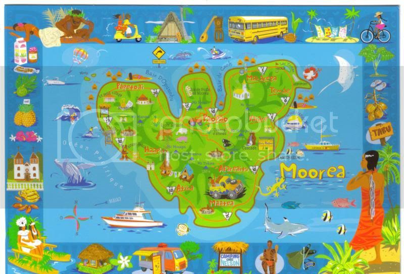 My World Of Postcards And Travels Moorea French Polynesia