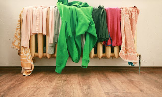 Can drying my clothes on the radiator push up my energy bills?