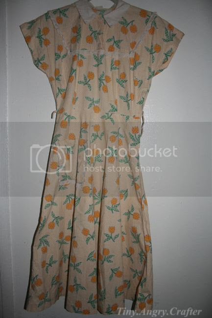 vintage housedress 1950's
