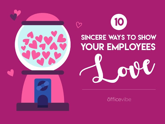 10 Ways to Spread The Love in The Office