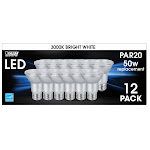 Feit Electric LED PAR20 Spot Bright White 12-Pack