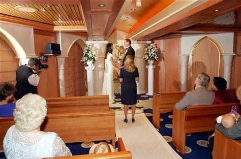 Best cruises for weddings   Travel   Romantic Getaways