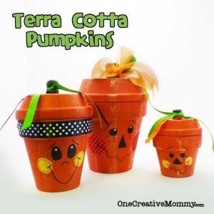 Terra Cotta Pumpkins New Look