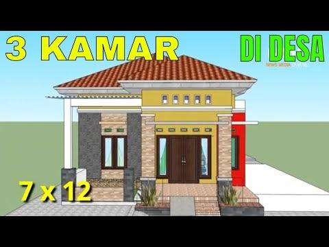 inilah desain rumah minimalis sederhana modern 3 kamar