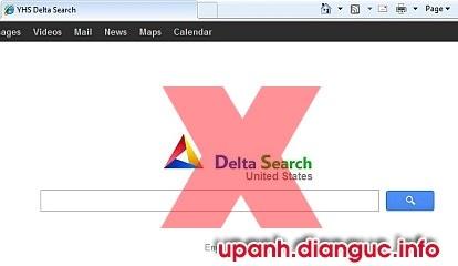 Hướng dẫn gỡ bỏ xóa Delta Search hoàn toàn khỏi Chrome Firefox