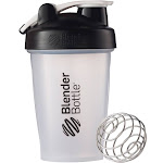 Blenderbottle 20-Ounce Classic Bottle with Loop, Black