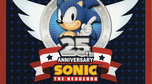 Review: SONIC THE HEDGEHOG 25TH ANNIVERSARY SELECTION | Scarlet Moon Productions / Blog