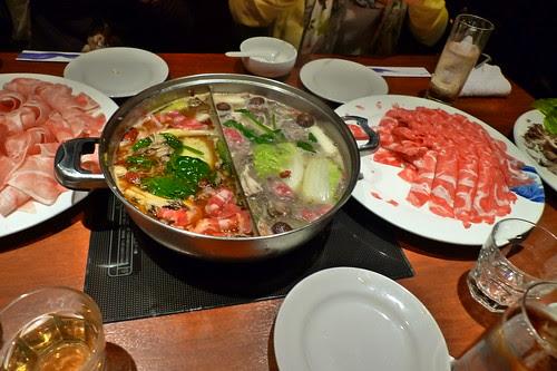 More hot pot food
