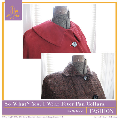 In My Closet: Peter Pan Collars