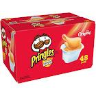 Pringles Snack Stacks Potato Crisps - 48 pack, 0.67 oz tubs