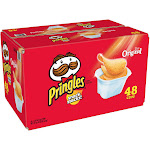 Pringles Snack Stacks Potato Crisps - 48 pack, 0.67 oz tubs