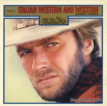 MORRICONE, ENNIO italian western and western screen themes gold 30