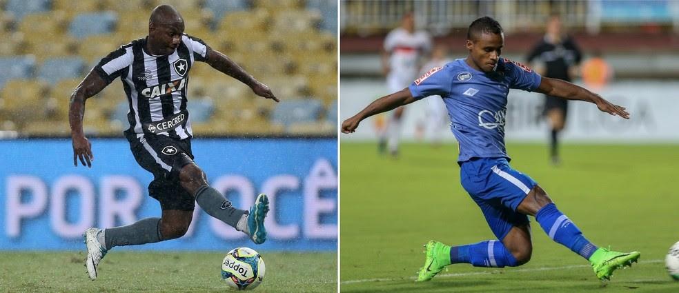 Primeira negociação entre Cruzeiro e Botafogo seria trocando Sassá por Élber, mas não deu certo (Foto: Info Esporte)