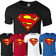Superman Mens Jungen Damen Damen Mädchen Unisex T-Shirt T-Top Cotton Super man T Shirt XS SML XL XXL vielen Farben und Größen erhältlich von SnS Online: Amazon.de: Bekleidung