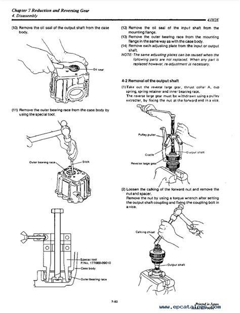 Yanmar Marine Diesel Engine 4JH2E/TE/HTE/DTE/UTE PDF