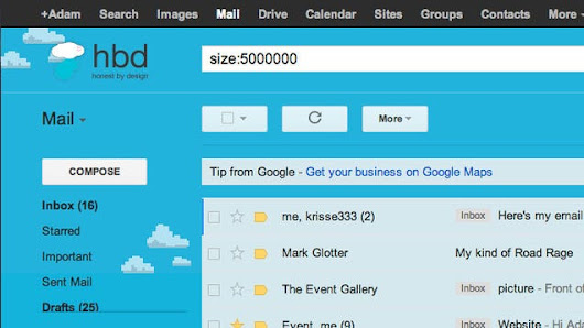 Esco's Mobile Blog: Find the Large Attachments Eating Up Your Gmail Space with a Simple Search