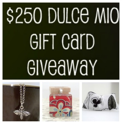$250 Dulce Mio Gift Card Giveaway