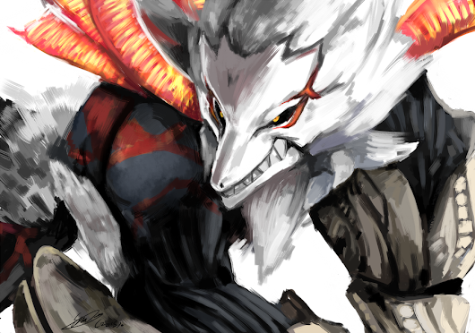 Fan Art Feature - GOD EATER 2: Rage Burst  by GO on DeviantArt