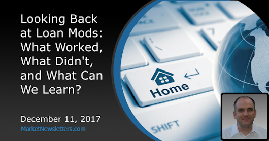 Looking Back at Loan Mods: What Worked, What Didn't, and What Can We Learn?