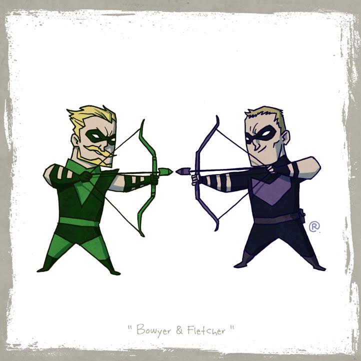 Flecha Verde y Ojo de Halcón
