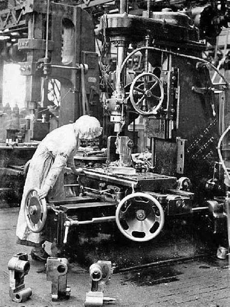 factory work for women during WWI | american history in