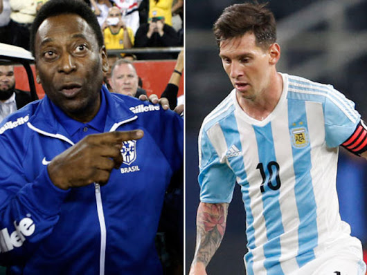 Brazil legend Pele: If I'm the king, then Lionel Messi should be the 'prince' - CBSSports.com