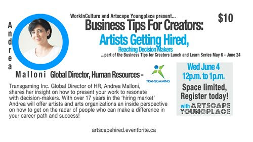 Work in Culture - Home | Arts | Culture | Career Development | Jobs | Training