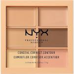 NYX Professional Makeup Color Correct Palette Conceal, Correct, Contour Light - 0.15oz