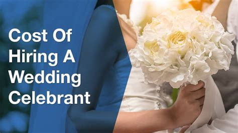 How Much Does a Marriage Celebrant Cost   ServiceSeeking