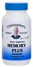 Dr. Christopher's Memory Plus                                   formula