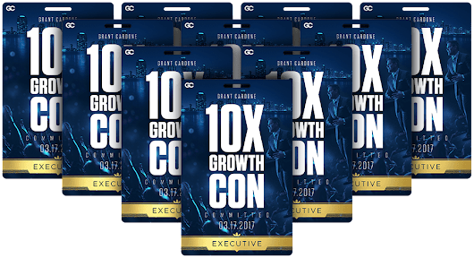 10X Growth Con Video Contest