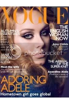 Adele Vogue October 2011