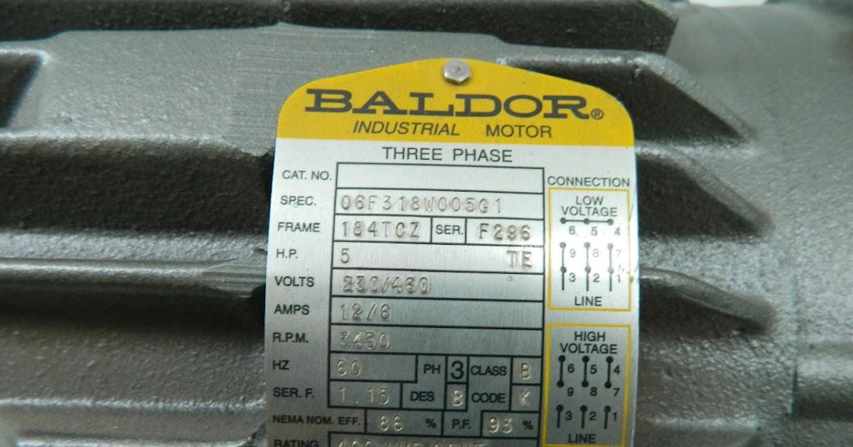 Baldor Motor Wiring Diagrams 3 Phase Wiring Diagram
