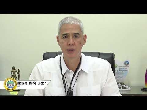 Negros Occidental Governor Eugenio Jose Lacson congratulates the Negros Season of Culture