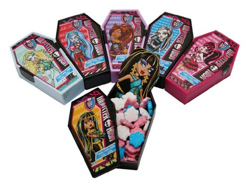 Monster High Freaky Candy Coffins
