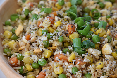 Cauliflower Fried Rice with Chia Seeds - Easy and Tasty!