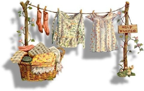 Born And Raised In The South...,: The Clothesline