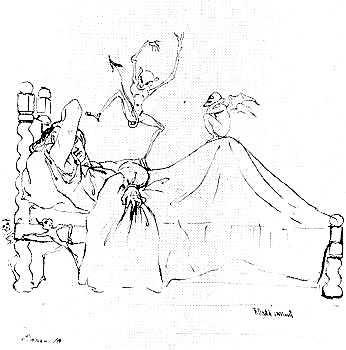 Richard Dadd. Walpurgis Night. The Piper of Neisse. The Devil's Bridge