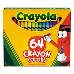 Crayola Classic Color Pack Crayons, Assorted 64/Box (CYO52064D)
