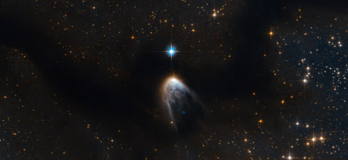 A star is born. IRAS 14568-6304 in the Circinus molecular cloud....