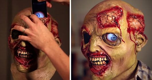 Smartphones Can Make Your Halloween Costumes Creepy As Hell