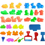 AZ Trading & Import PSM036 Deluxe Beach Sand Mold & Tools Play Set