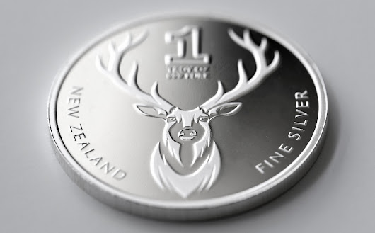 The Beautiful 'Trophy' Stag Silver Coin – MyGold – Medium