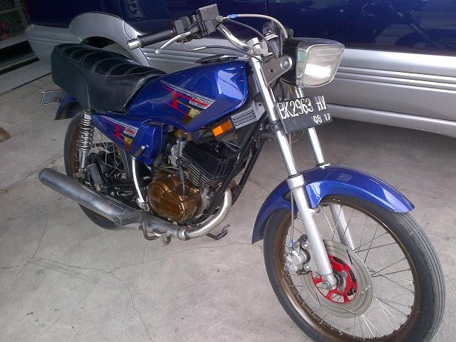 Yamaha Rx King Ngintip Modifikasi Terbaru Si Kuda Besi