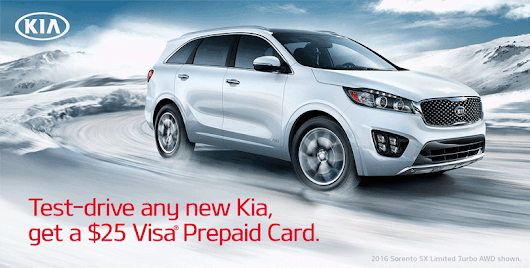 Kia Test-Drive Offer